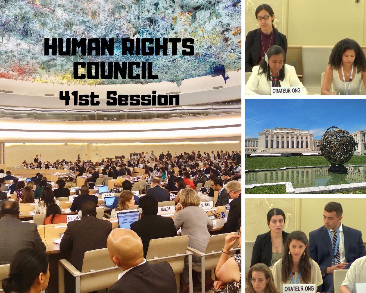 5320e09167 Partecipazione di IIMA alla 41° sessione del Consiglio dei Diritti Umani a  Ginevra